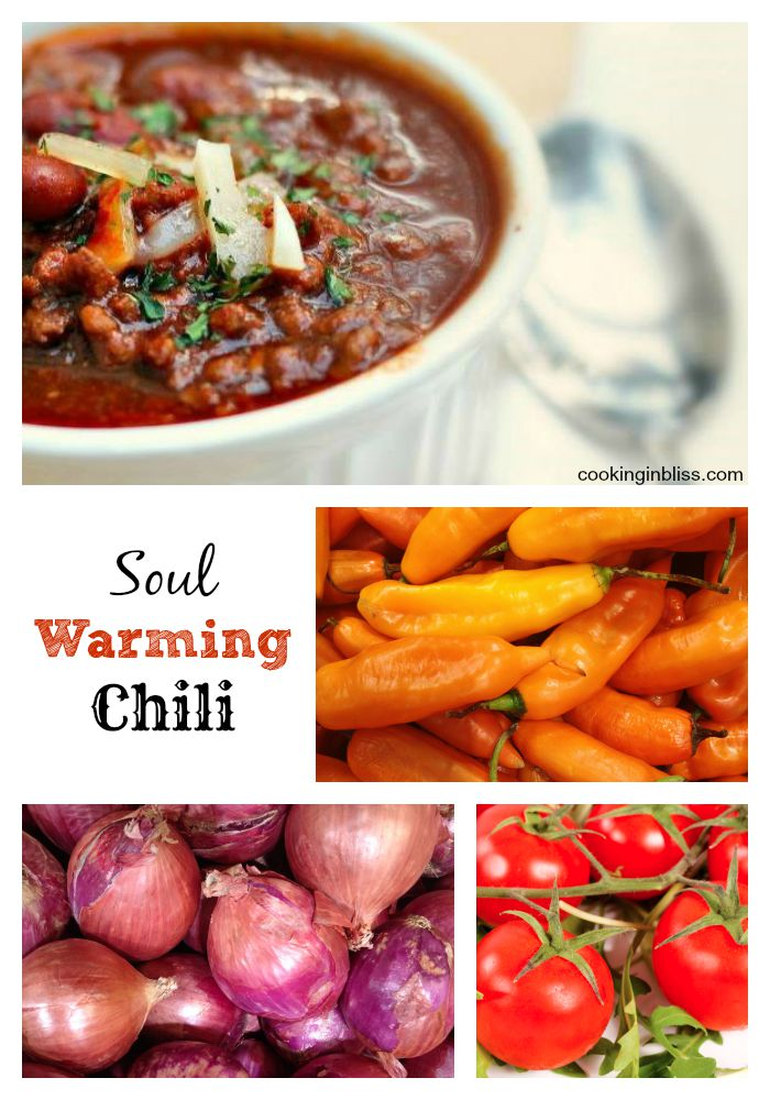 Soul Warming Homemade Chili Recipe