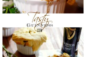Guinness Stew Pot Pies Recipe