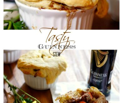 Guinness Stew Pot Pies Recipe