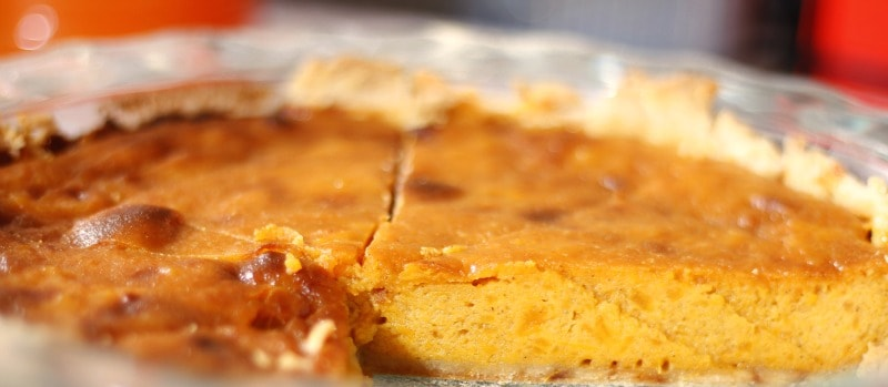 Old Fashioned Sweet Potato Pie