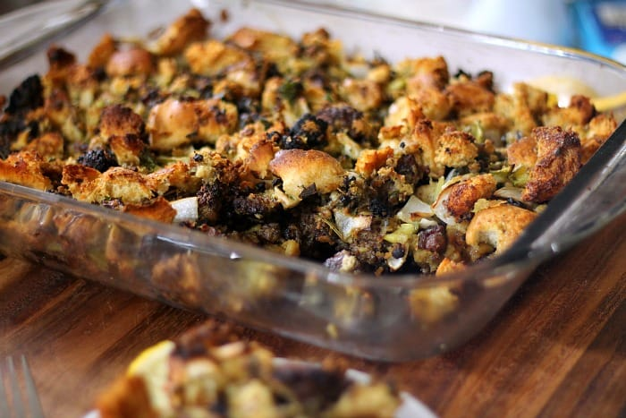 Oyster-Sausage-Stuffing-Recipe