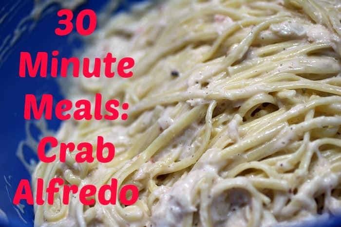 30-Minute-Meals-Crab-Alfredo