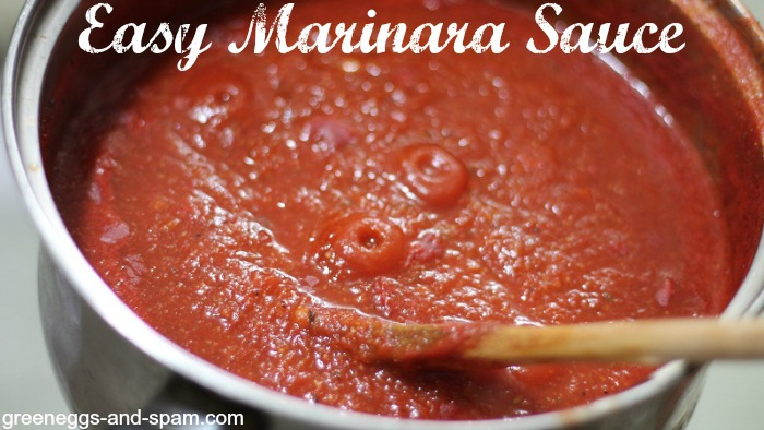 Do you have another recipe for an easy marinara sauce?