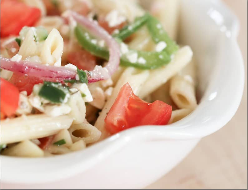 greek pasta salad recipes