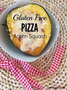 Gluten Free Pizza Acorn Squash Recipe
