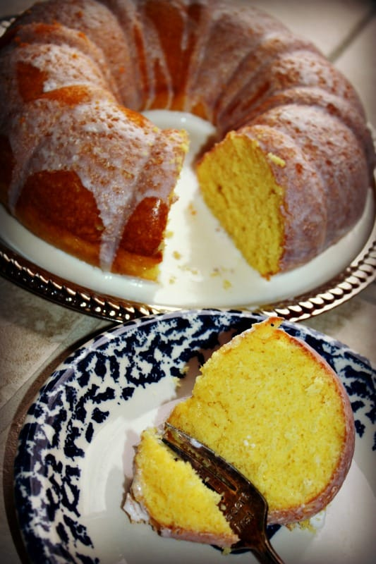 Lemon Bundt Kugel Cake Recipe