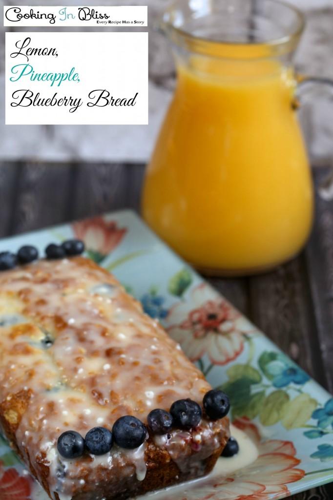 pineapple blueberry cake recipe