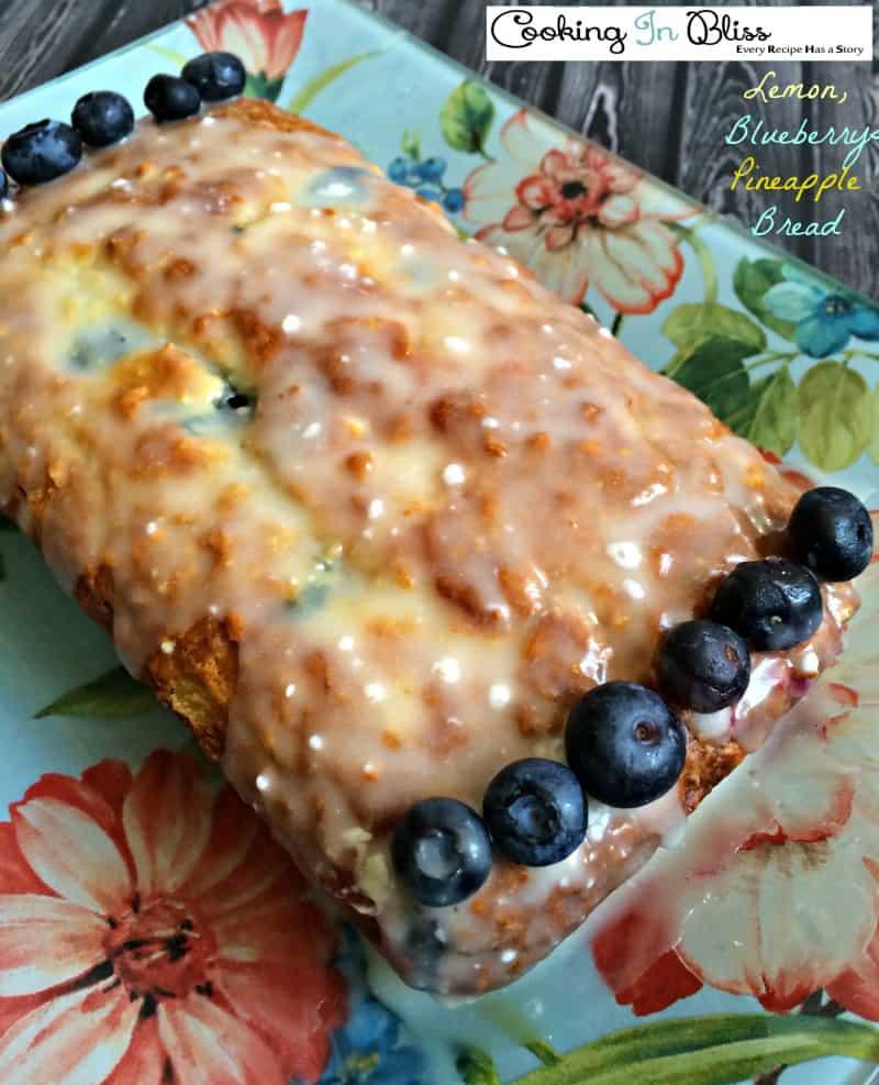 blueberry pineapple bread recipe