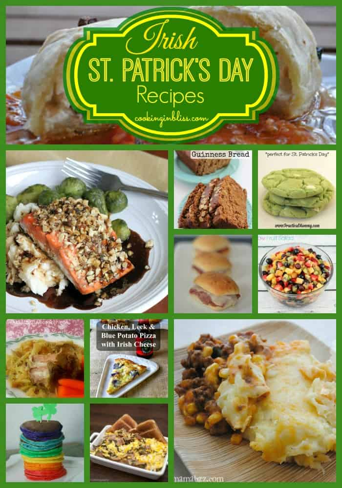 Irish Recipes for St Patrick's Day