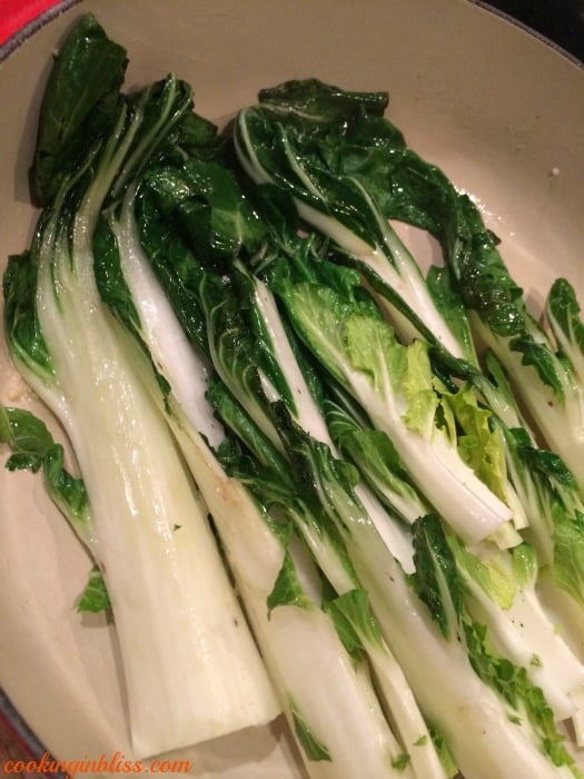 Bokchoy for Lemon Pepper Steak Stir Fry