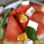 Watermelon Citrus Mint Salad