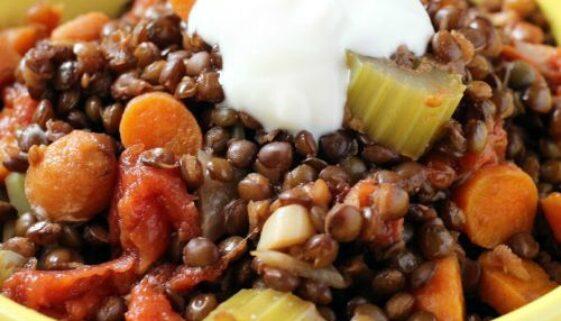 Easy Lentil Stew Recipe