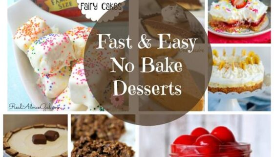 Fast and Easy No Bake Desserts