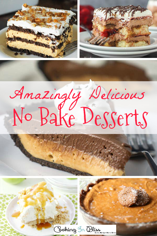 Easy No Bake Desserts