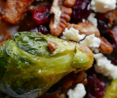 healthy butternut squash brussel sprouts
